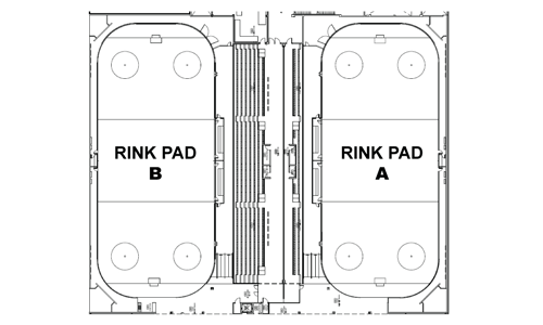 Harry Howell Arena Rink Pad A & B