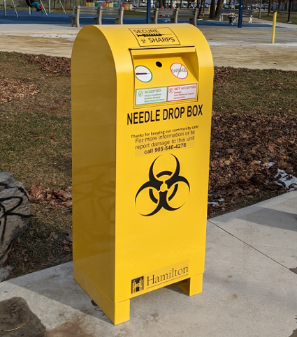 Image of Needle / Syringe Disposal Bin