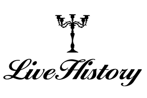 Logo for Live History Theatre Group