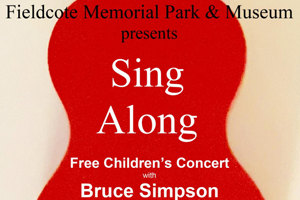 Promotion for the Sing Along Concert at Fieldcote