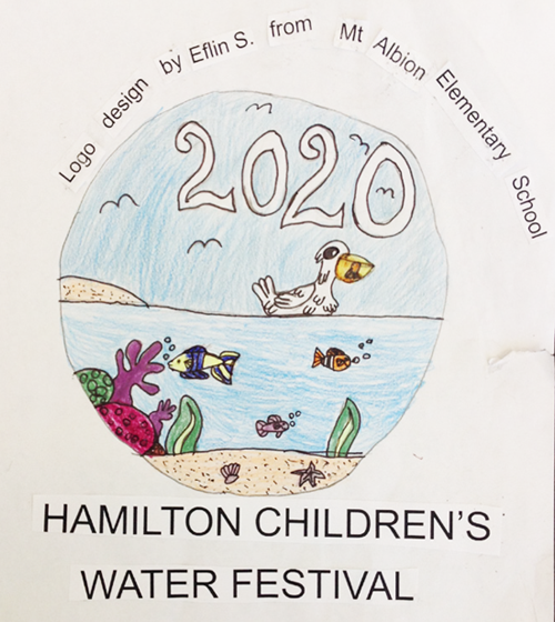Hamilton Children's Water Festival 2020 artwork
