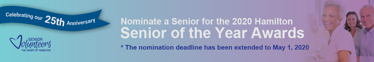 Promotion for the Senior of the Year Awards