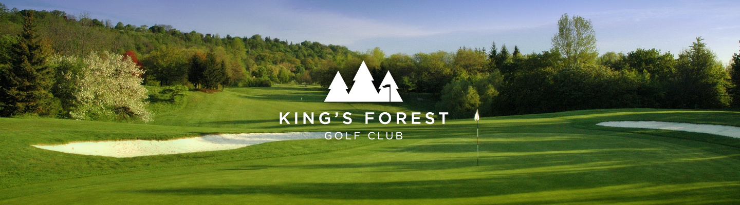 Kings  Forest course green and fairway