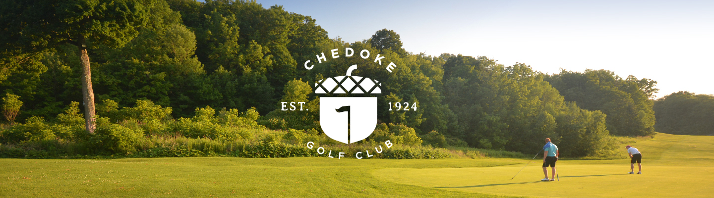 Chedoke Course Green with logo