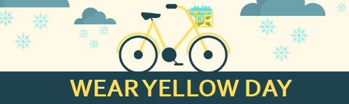 Wear Yellow Day promotion