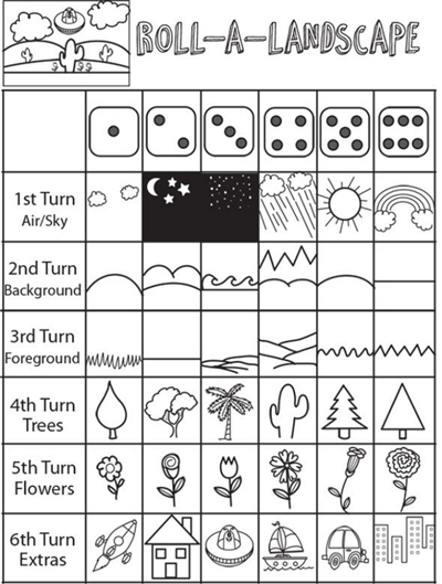 Roll Dice Landscape