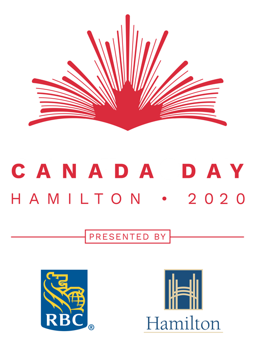 Canada Day Logo with Sponsors