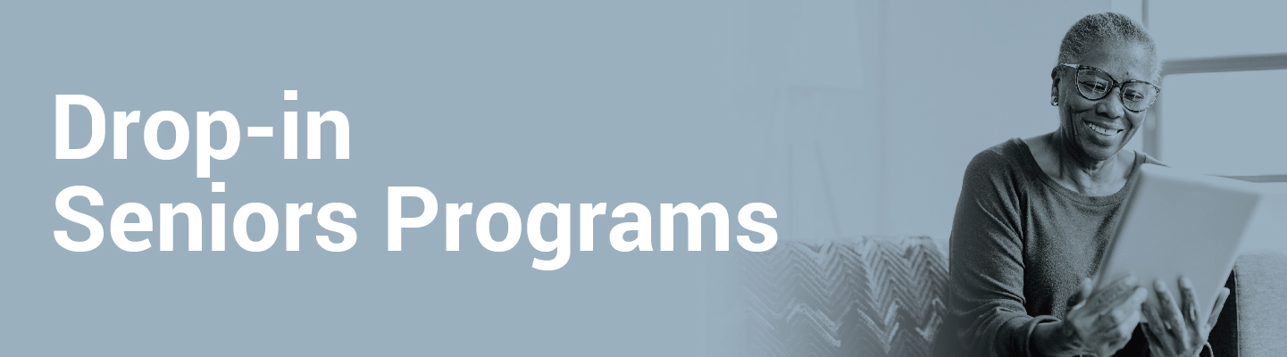 Drop-in senior programs