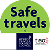 Tourism Industry Association of Ontario's SafeTravels Stamp