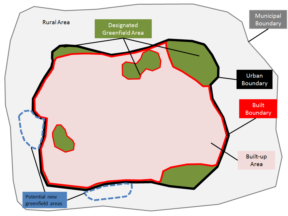 Map outlining different lands that make up a lands new assessement