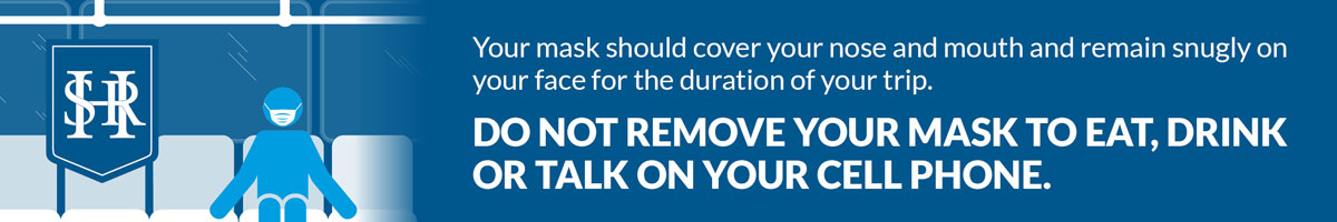 COVID Prevention HSR Keep Mask On - Do not remove your mask to eat, drink or talk on the phone.