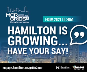 Hamilton is growing...Have your say!