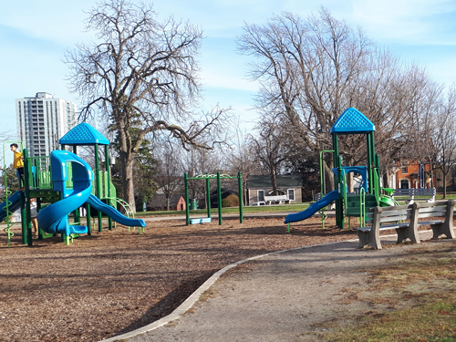 Victoria Park Play Structure