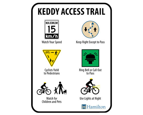 Keddy Access Trails Rules