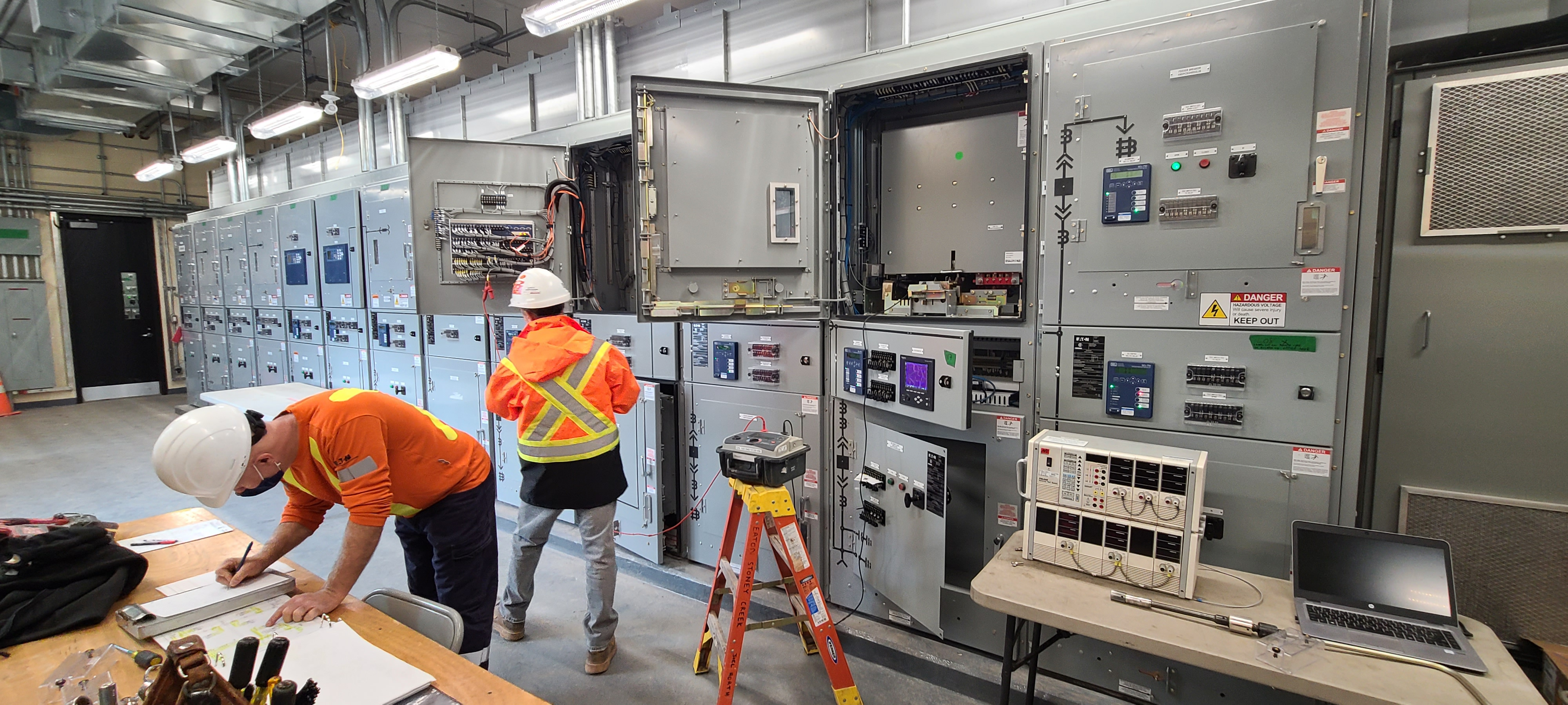 Electrical Power Centre Upgrades