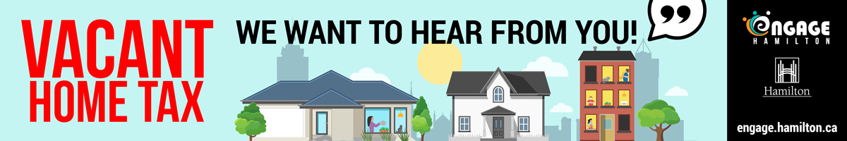 Promotion for Vacant Home Tax Survey