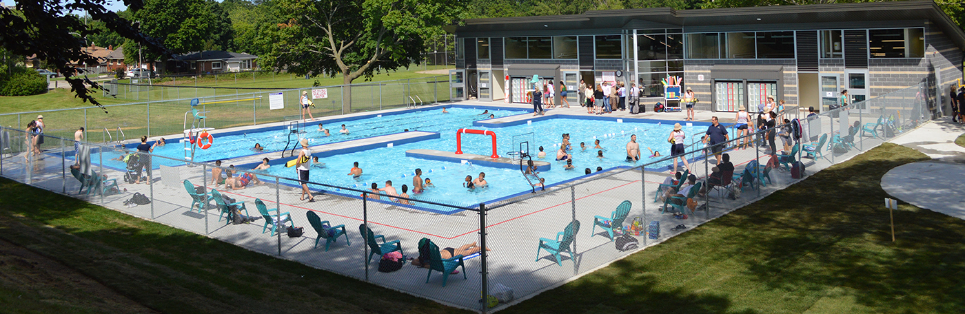 Outdoor pools are open for the summer!