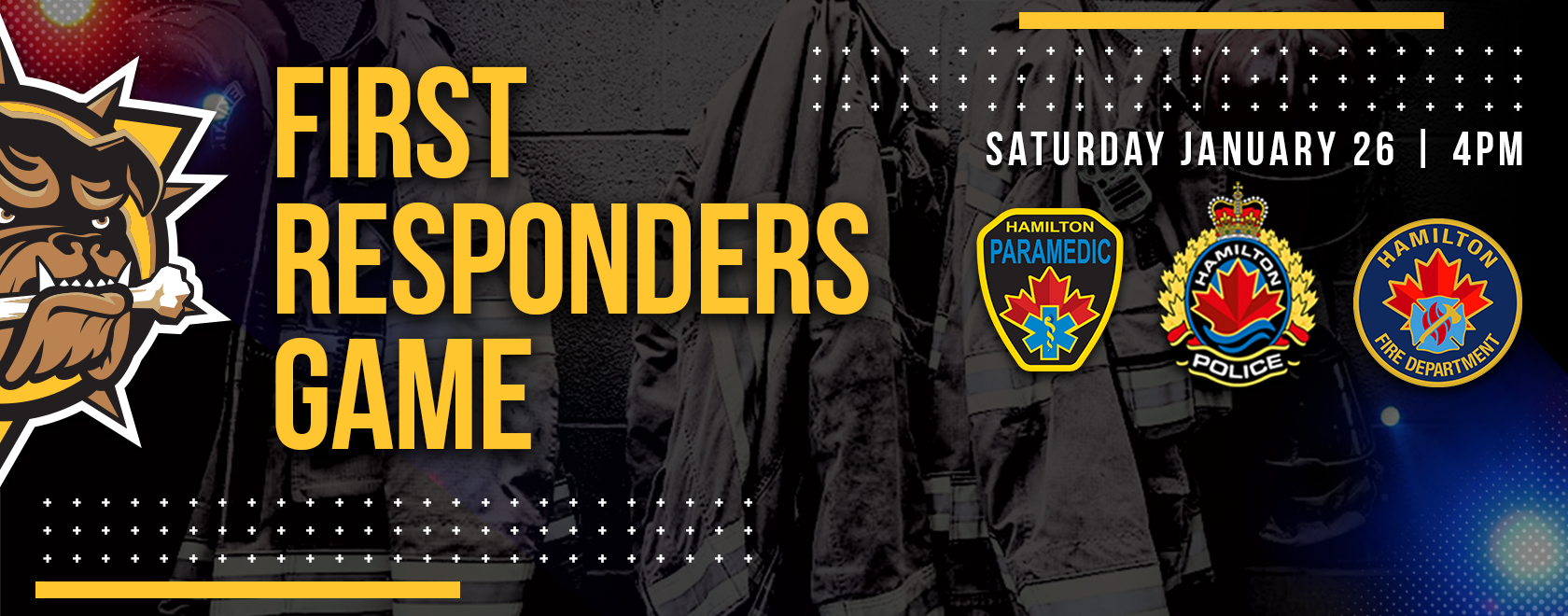 First Responder's Night Promotion Banner