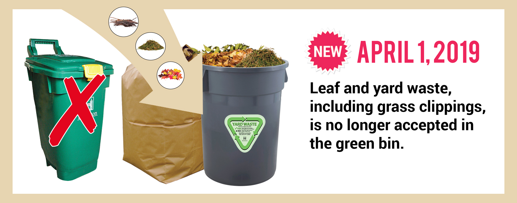 Yard Waste homepage slider