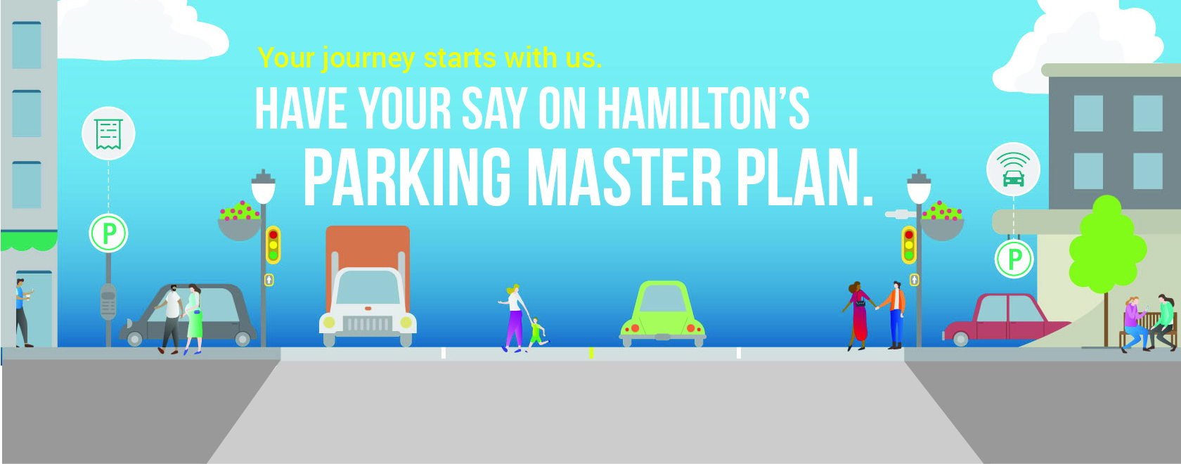 Promotion for Parking Master Plan Engagement