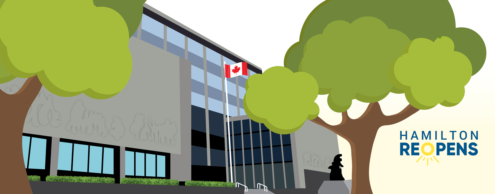 Illustration of the POA Court House Building