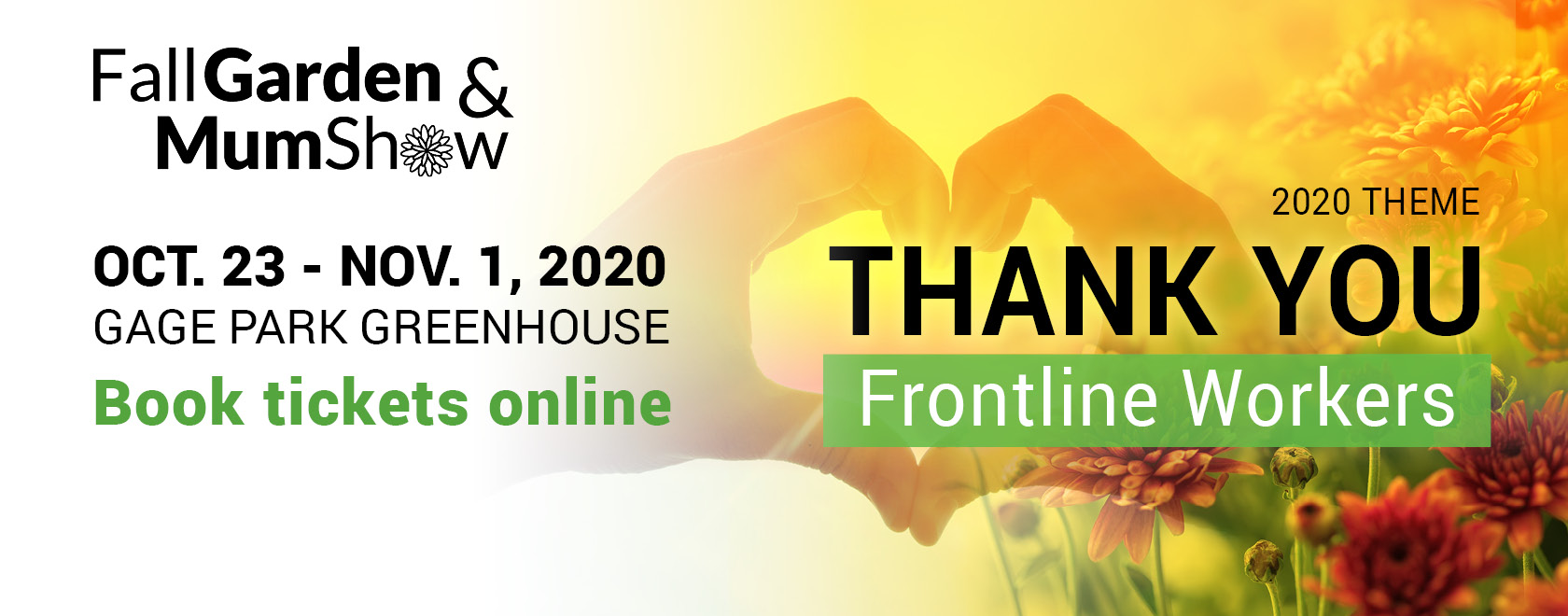 Attend the 2020 Mum Show in honour of Frontline Workers for free