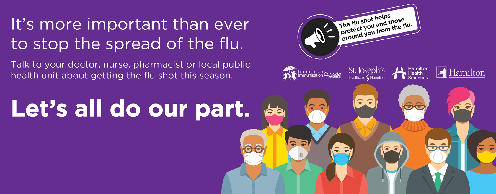 It's more important than ever to stop the spread of the flu.