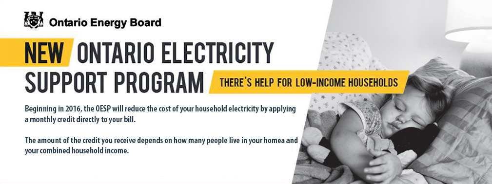 New Ontario Electricity Support Program - visit ontarioelectricitysupport.ca