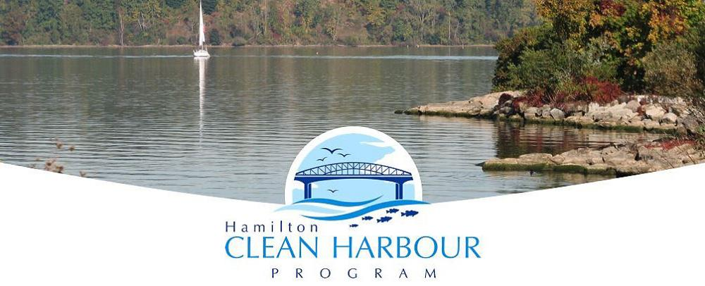 Water harbor in Hamilton