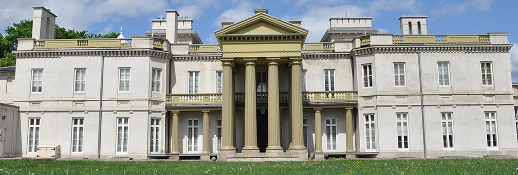 Exterior shot of Dundurn National Historic Site in Hamilton