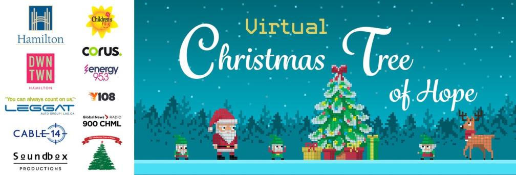 Promotion for Virtual Christmas Tree of Hope