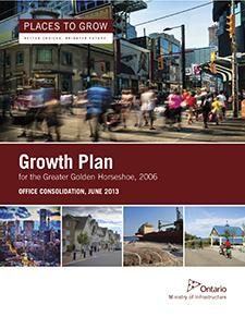 Growth Plan for the Greater Golden Horseshoe Report Cover