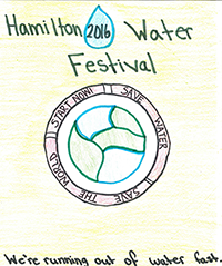 2016 Water Festival Student Design Winner