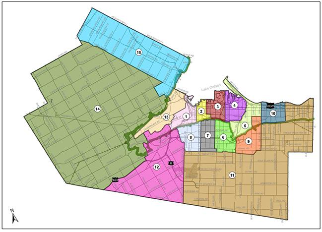 Ward Boundary Review Map - Proposed New