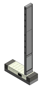 Illustration of the Gore Park Beacon Installation