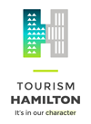 Logo for Tourism Hamilton