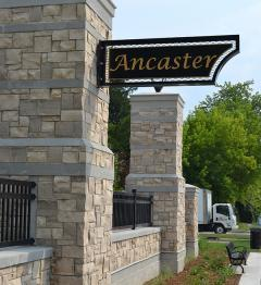 Gateway into Ancaster BIA