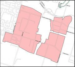 Map of the Red Hill Business Park