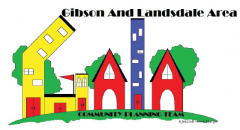 Gibson and Landsdale Neighbourhood Association logo
