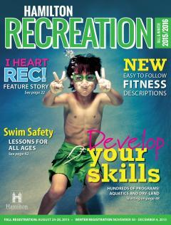 2015 Recreation Guide cover image
